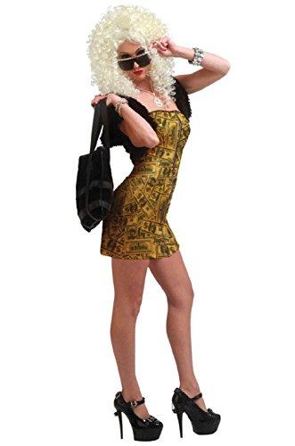 Handcuff Honey Cop Costumes (Money Honey Working Girl Adult Halloween Costume)