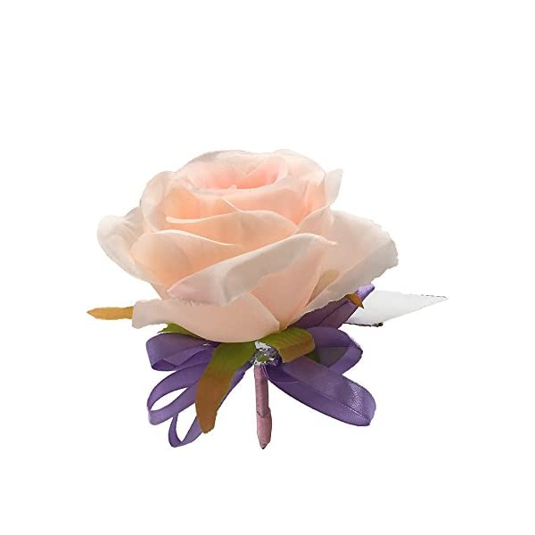 Abbie-Home-Blooming-Rose-Boutonniere-Brooch-Pin-for-Prom-Party-Wedding-Pack-of-246