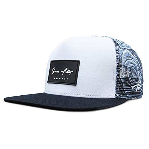 Grace Folly Trucker Hat for Men & Women. Snapback Mesh Caps (One Size, Rose- Gray) ()