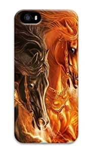 3D horse 2 3D Case funny iphone 5 case for Apple iPhone 5/5S