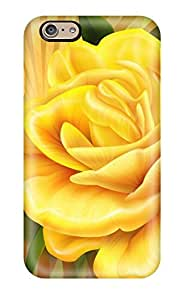 New Arrival Case Specially Design For Iphone 6 (yellow Rose)