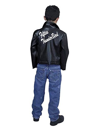 50's Boy Costume (Child Thunderbird Jacket)