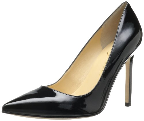 Ivanka Trump Women's Carra Dress Pump,Black Patent,7.5 M US Black Patent Pointed Toe Pump