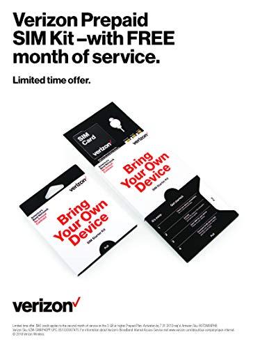 Verizon Prepaid Sim Kit with FREE 2nd Month of Service