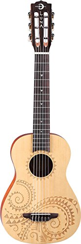 Luna Tattoo 6-String Baritone Ukulele by Luna Guitars