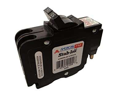 American/Federal Pacific Circuit Breaker, 2-Pole 50-Amp Thin Series
