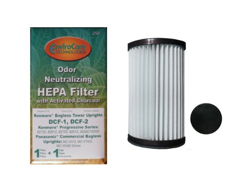 1-kenmore-bagless-pleated-tower-hepa-w-activated-charcoal-filters-2-caps-upright-bagless-sears-300-s