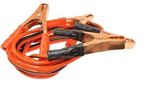 [해외]배터리 점퍼 케이블 w Post & amp; /Battery Jumper Cables w Post & Terminal Cleaner Bundle For Roadside Emergencies | 8ft Booster Cables | 150 AMP | Color Coded | 2-in-1 Stainless Steel Wire Brush Corrosion Remover Tool
