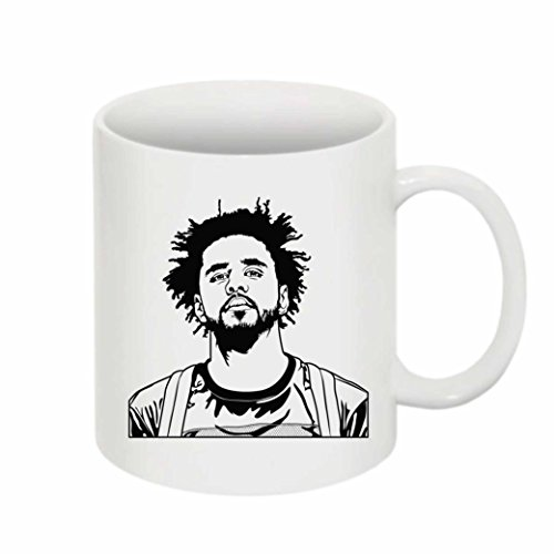 J. Cole Jcole dreamville 11 0Z Ceramic White Mug