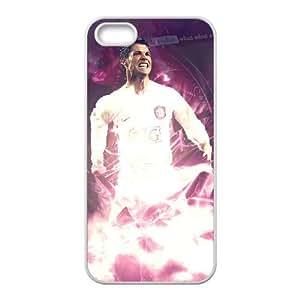 Cristiano Ronaldo iPhone 5 5s Cell Phone Case White SH6112338