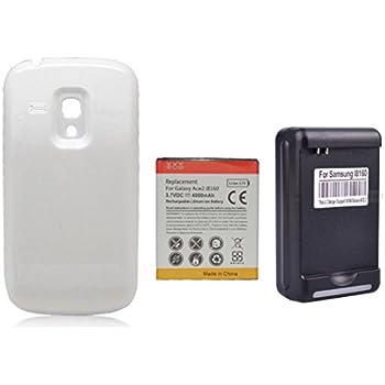 Amazon.com: 4000mAh Batería Extendida con Carcasa Blanca ...