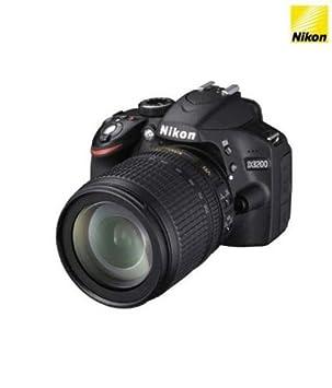 942ee201501 Nikon D3200 24.2MP Digital SLR Camera Black + 18 105mm VR II Kit Lens +