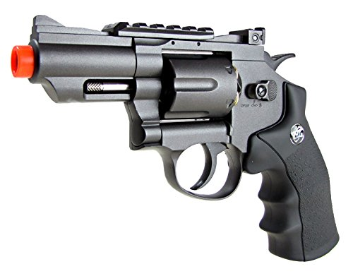 - tsd tactical - sdcnr708bb - tsd/wg model 708 co2 gas black revolver(Airsoft Gun)