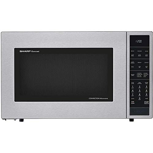 Sharp SMC1585BS 1.5 cu. ft. Microwave Oven with Convection Cooking in Stainless Steel  from SMC1585BS