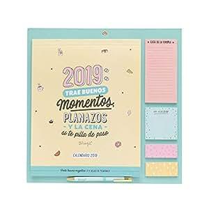 Mr. Wonderful - Calendario magnético para nevera año 2019