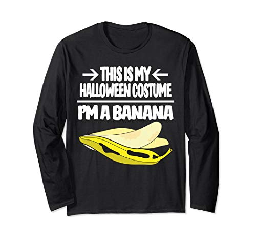 Banana Halloween Costume T Shirt This Is My Costume