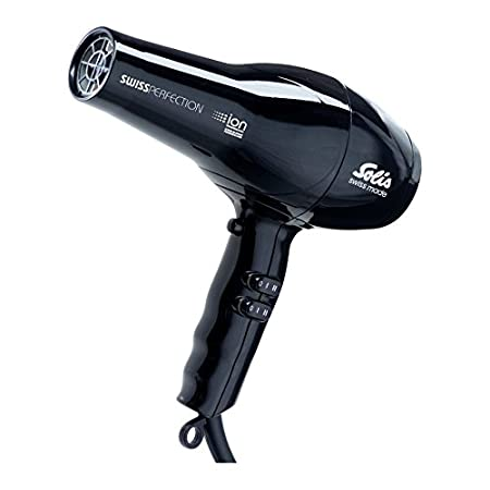 Swiss Solis secador de pelo Perfection ca colour negro o morado 2300 vatios: Amazon.es: Salud y cuidado personal