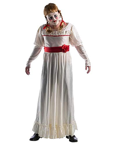 Rubie's Unisex-Adult's Standard Annabelle: Creation Deluxe Costume and Mask, as as Shown, Standard