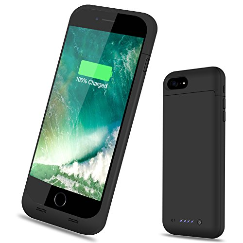 3800mah External Battery Case iPhone 6/ iPhone 6s (Black) - 2