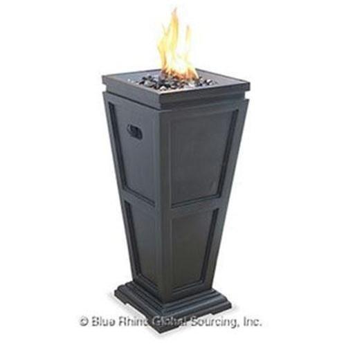 Blue Rhino Genuine UF LP Gas Column Firepit Med