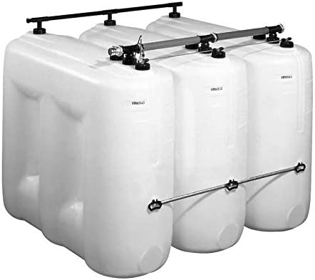 Dehoust Tankentnahmegarnitur 4er Batterie f/ür PE-Tanks