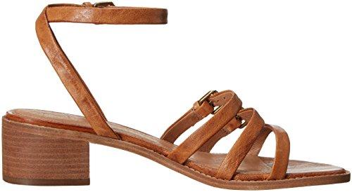 Frye Women's Cindy Buckle Heeled Sandal Camel sneakernews cheap price discount online cheap nicekicks ER8lTwWxl
