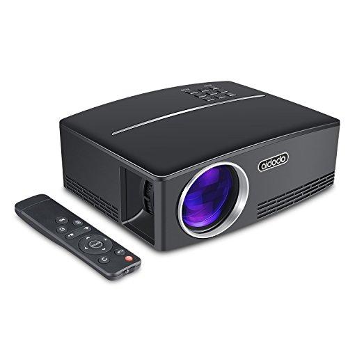 1080P HD Multimedia LED Projector Home Cinema HDMI VGA AV SD Black - 9