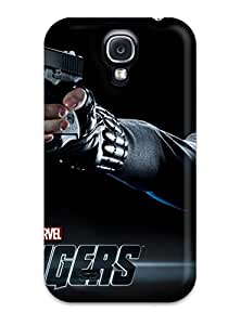 Snap-on Scarlett Johansson In The Avengers Case Cover Skin Compatible With Galaxy S4