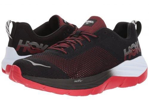 Hoka One One(ホカオネオネ) メンズ 男性用 シューズ 靴 スニーカー 運動靴 Mach - Black/White [並行輸入品] B07C8GDN3L