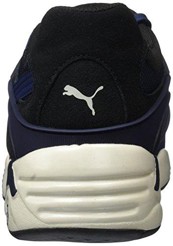 Gray Blaze Blau peacoat Bleu Baskets Mixte Basses glacier Puma 02 Adulte Classic vxn7qwwZB