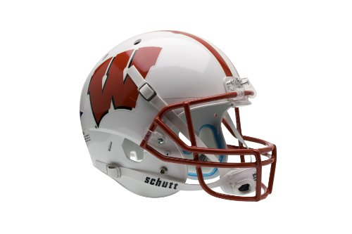 NCAA Wisconsin Badgers Replica XP Helmet (Helmet Team Wisconsin Badgers)