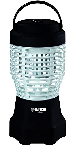 American-Outland-BZ5003-Electronic-IndoorOutdoor-Bug-Zapper-w-High-Efficiency-UV-A-Lamp-18-Watts