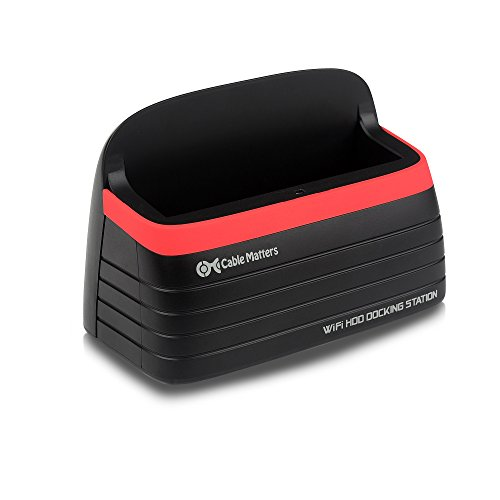 Cable Matters Wireless SATA Hard Drive Docking Station with SuperSpeed USB 3.0 by Cable Matters