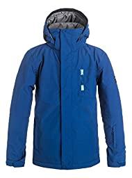 Quiksilver Boys Mission Solid - Snow Jacket Snow Jacket Blue 10