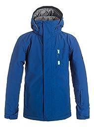 Quiksilver Boys Mission Solid - Snow Jacket Snow Jacket Blue 10