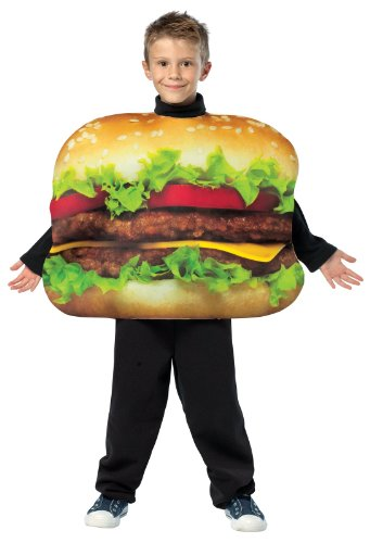 Cheeseburger Child Costume (As Shown;7 to 10)]()