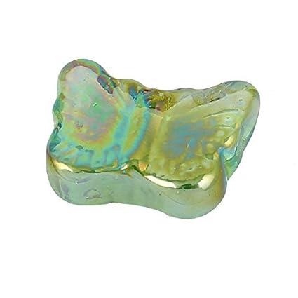 Amazon.com : eDealMax Forma de la Mariposa de Los cristales del tanque del acuario Goldfish Bowl de Bolas de Piedra decoración : Pet Supplies