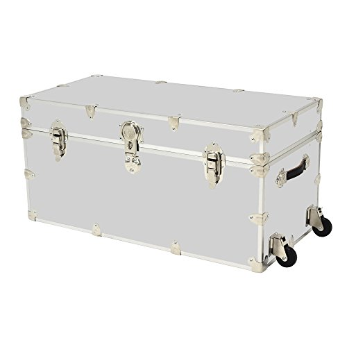 Rhino Armor Dorm Trunk - 35'' x 17'' x 17'' - WITH WHEELS by Rhino Trunk and Case (Image #1)