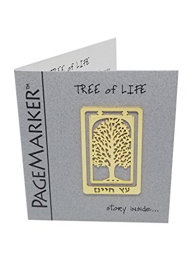 (Tree of Life Gold Plated Bookmark )
