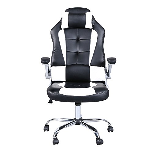 41yr7BO7wwL - Video-Game-ChairHome-Office-Chair-C-Shaped-Wheelchair-High-back-Computer-Ergonomic-Design-Racing-Chair-Gaming-Swivel-Chair-With-Armrest-for-Adults