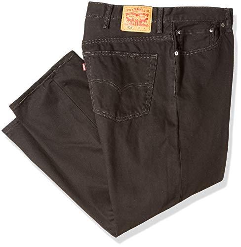 Levi's Men's Big and Tall 505 Big & Tall Regular Fit Jean, Blue, 46x30