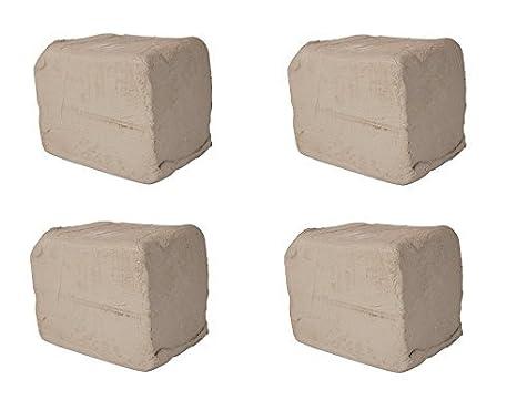 AMACO High Fire Moist Non-Toxic Stoneware Clay 50 lb 46 Blue Buff No
