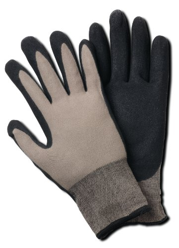 Magid BE337T Bella Men's Comfort Flex Coated Garden Glove, Large/X-Large