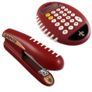 NFL New Orleans Saints Stapler/Calculator Set