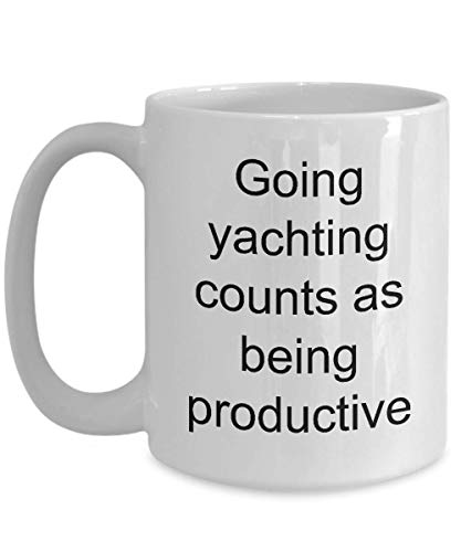 Yacht Admiral Mug Yachting Club Coffee Mugs Novely Funny Gift Mom Dad