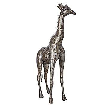 Genial METAL GIRAFFE SCULPTURE (3FT 6IN)