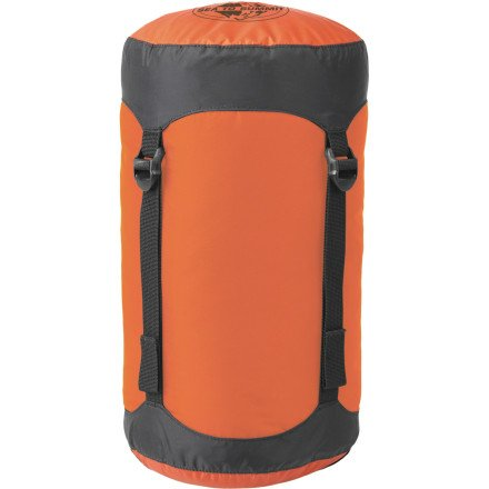 Sea To Summit Compression Sack Orange, M/14L, Outdoor Stuffs