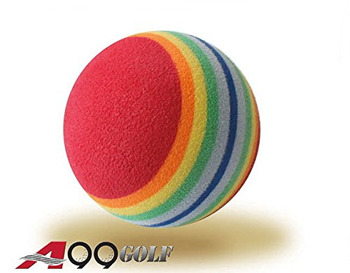 36pcs EVA ball foam ball rainbow practice golf training aids or cat toy by A99 Golf (Image #2)