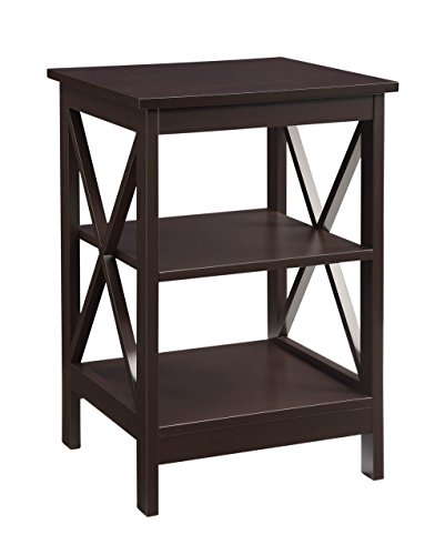 Convenience Concepts Oxford End Table, Espresso For Sale