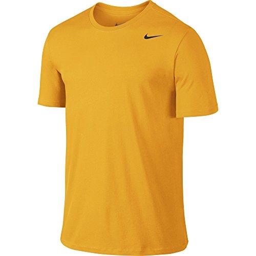 Nike Gold Training Shorts - NIKE Men's Dri-FIT Cotton 2.0 Tee, University Gold/University Gold/Black, X-Large